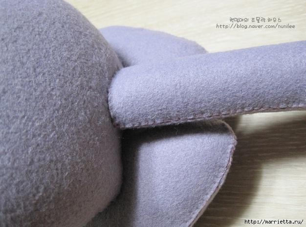игрушка своими руками кот из фетра