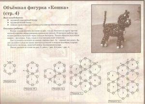 Объёмная фигурка Кошка Мурка