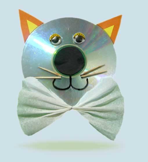 Кот из диска