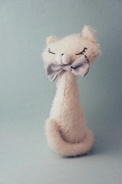 Выкройка элегантной кошки своими руками