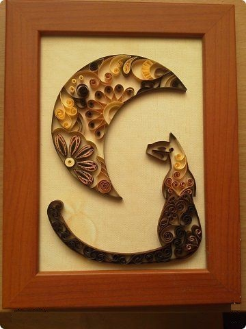 Квиллинг с котами