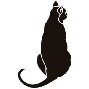 трафареты кошек интерьер