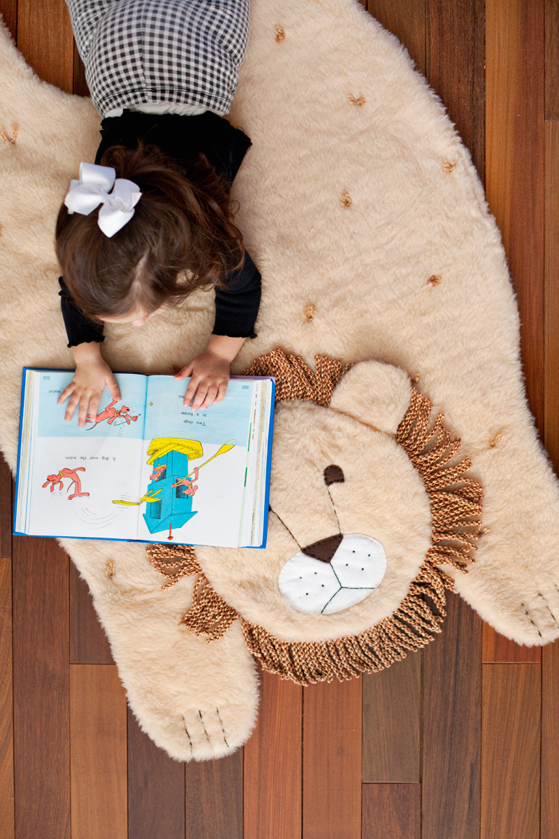Рисунок на коврике своими руками