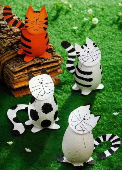 Пасхальные коты