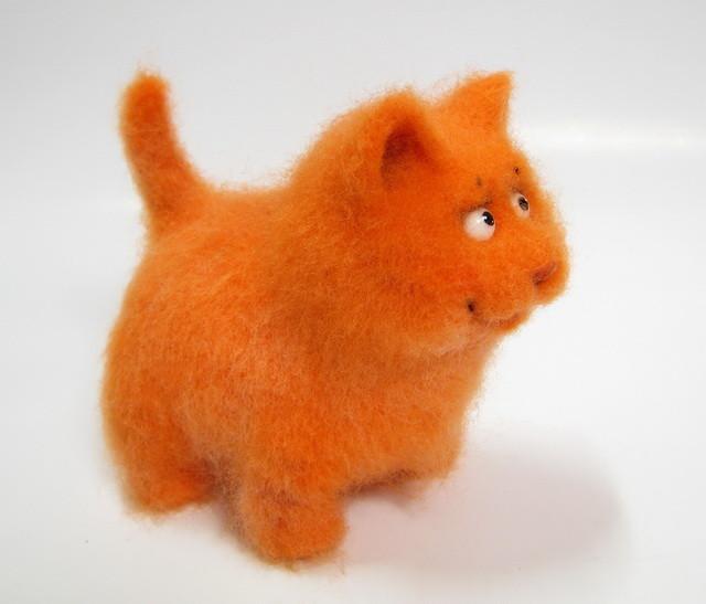 """Quot;Весеннее обострение"""". Или валяем рыжего кота. Ярмарка Мастеров"""