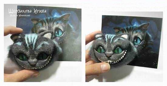 Сделать своими руками чеширского кота