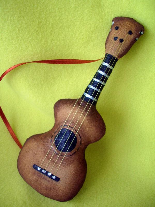 Гитара для кукол своими руками 856