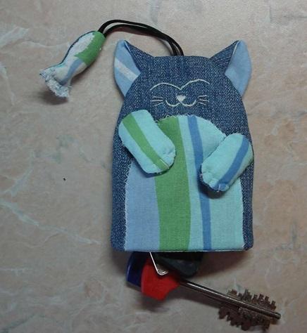 Ключница своими руками — Котик