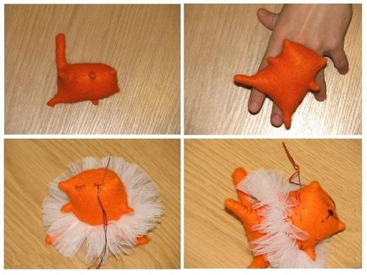 Мастер-класс игрушка - Кошка–мечтательница