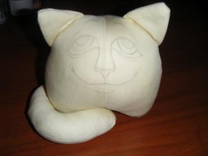 Мастер-класс - интерьерный кот