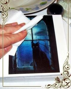 Шкатулка своими руками - чёрная кошка
