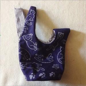Детская сумка - мешок своими руками