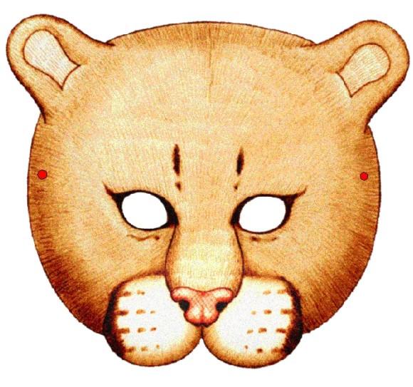 Делаем маски котов на голову