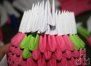 Модульное оригами Хеллоу Китти
