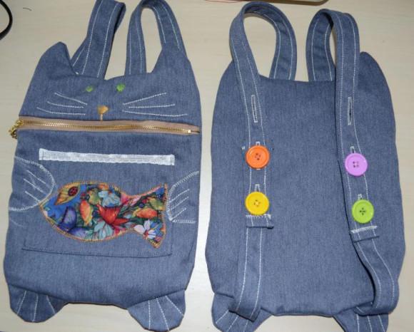 Выкройка детского рюкзака в виде зверят corps military backpack* рюкзак