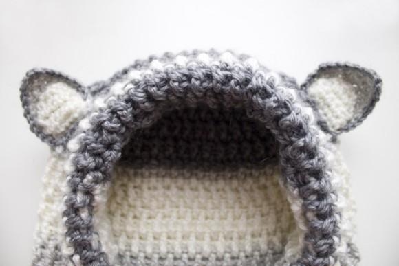 Снуд - капюшон с ушками