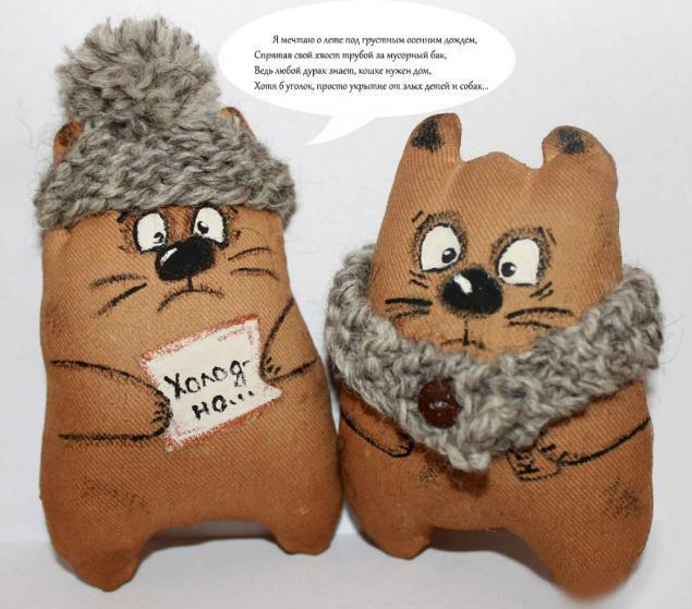Зимние утеплённые коты