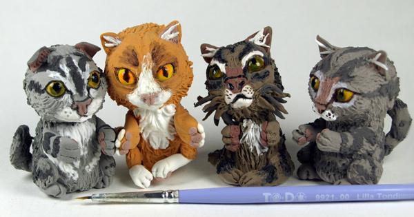 Миниатюрные коты