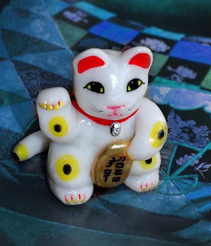 Лепим котов из полимерной глины