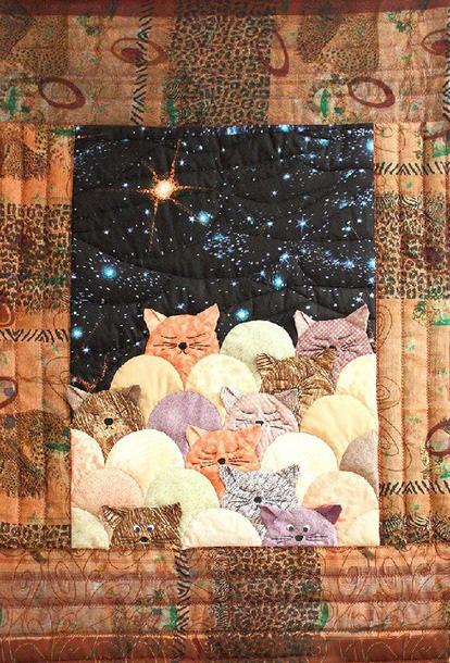 Лоскутное шитье — картины и схемы