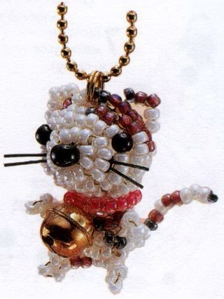 Котёнок с колокольчиком
