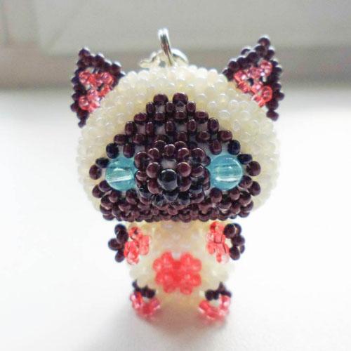 Котёнок Гав из бисера