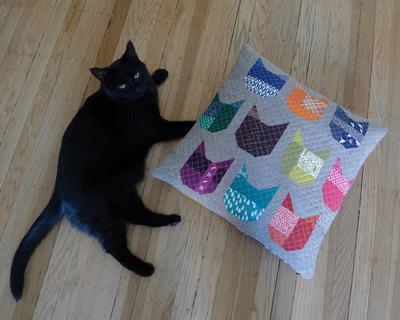 Пэчворк подушка и схемы блоков