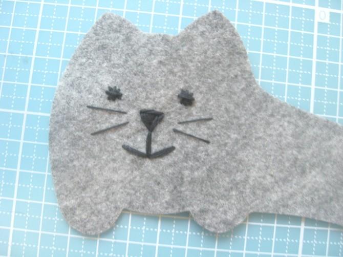 Одежда для кружки Кот (мастер-класс)