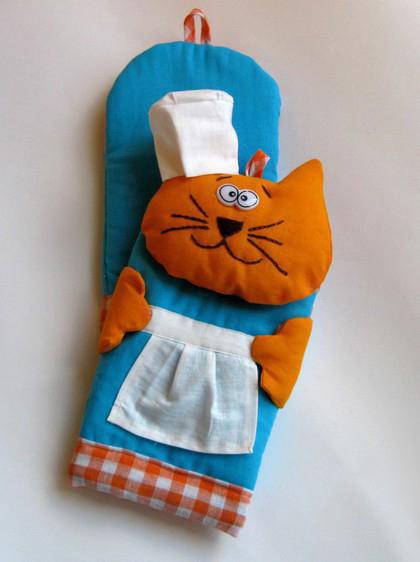 Перчатки для кухни своими руками 23