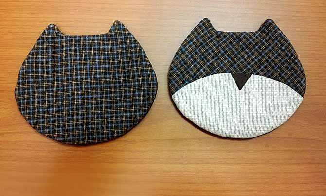 Детский кошелёк 2 кота (мастер-класс)