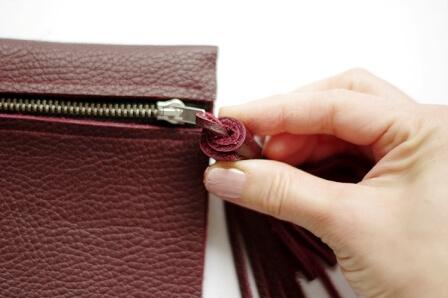 Простой кошелёк из кожи своими руками