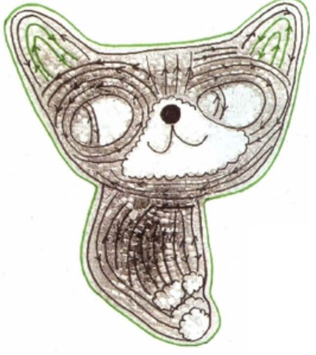 Брошь из бисера Кошка - мастер-классы