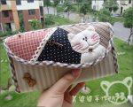Пенал с изображением кота