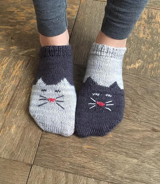 Детские носки на спицах — схемы и мк пошагово