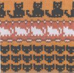 Схемы Кошки для детских пуловеров