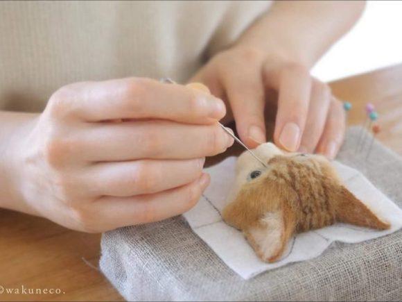 Художественные изображения из шерсти - как это делается
