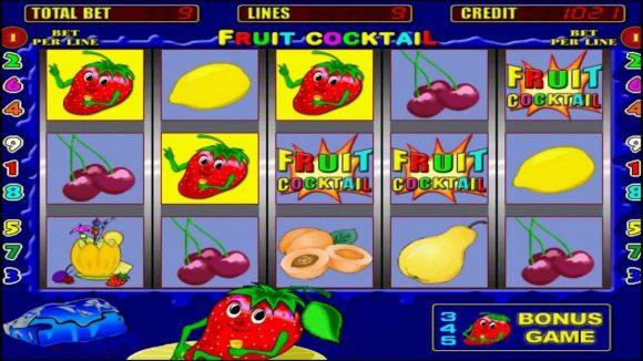 Описание слота Fruit Cocktail в казино Вулкан