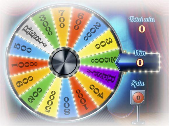 Игровой автомат «Колесо фортуны» в казино Вулкан