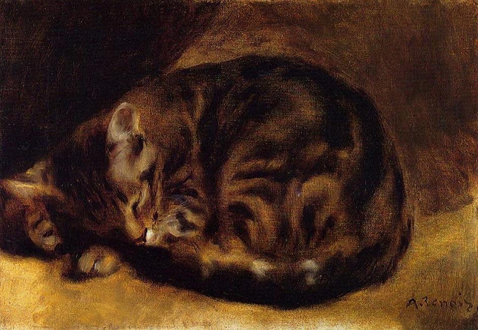 Образ кошки в искусстве и творчестве