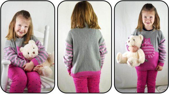 Вяжем спицами для девочек – базовый гардероб